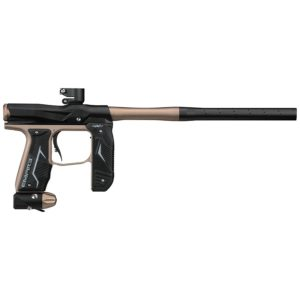 Empire Paintball now offers the next generation of the impressive Axe marker; the AXE 2.0 Dust Black & Tan Paintball Marker. This new Axe features improved accuracy, lighter weight, a remodelled foregrip and increased resistance to weather.