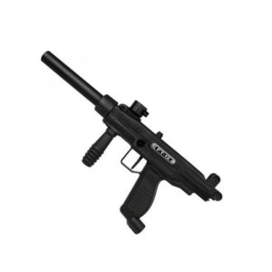 The Tippmann Paintball Marker - FT-12 50 Cal utilises the same design of the FT-12 with a flip top, tool-less design but with new internals and barrel for .50 Cal games.