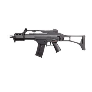 The Semi- and full-automatic electric assault rifle – the AEG SLV SLV36 AIRSOFT RIFLE offers many different configurations to suit your gaming needs.