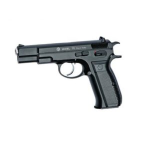 The CZ 75 FULL METAL BLOW BACK AIRSOFT PISTOL 6MM have long been known for its superior ergonomics, this fully licensed Airsoft gun is an accurate replica in both form and function, it sits perfectly in the hand and its realistic blowback action will provide hours of shooting fun.