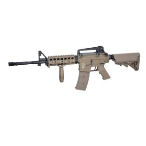 The ASG AEG PL LMT DEFENDER R.I.S DESERT AIRSOFT RIFLE the next generation in airsoft. The Next Generation Proline has been developed to meet the requirements of experienced airsoft users.