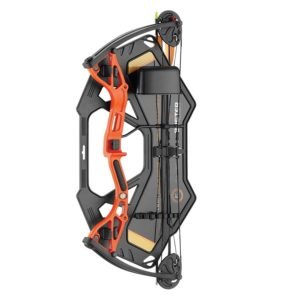 This Buster Split Limbs Orange compound youth bow from EK Archery is a perfect starter kit and comes with the complete package.
