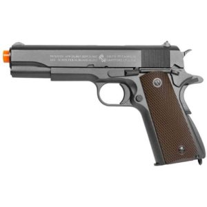 The COLT M1911 CO2 BLOWBACK METAL AIRSOFT PISTOL - CANADA LEGAL is one of the most popular airsoft pistols on the market, the classic Colt m1911 is an American classic sidearm.