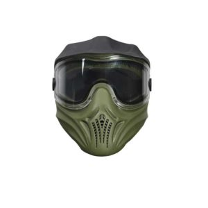 The HELIX - Thermal Paintball Mask - Olive from Empire; the goggle features the same lens as our high-end goggles but at a wallet-friendly price but without sacrificing comfort or protection.