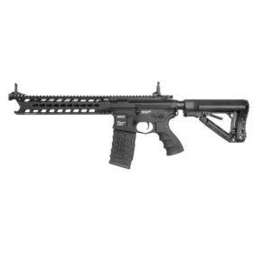 The G&G CM16 Predator / SR- series represents a new line of products with a quality somewhere between most brands' Sport- and Proline. They're weapons with a polymer body,