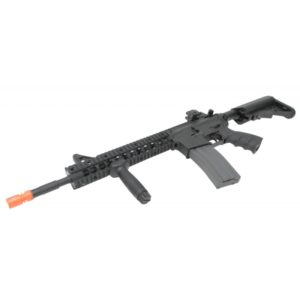 The Electric Blowback TR15 Raider XL GT EBB Combo TGR-015-RXL-BBB-ECM Airsoft Rifle comes with Battery and Charger in this combo. G&G has long been known in the airsoft community for creating some of the highest quality, most reliable, and top performing airsoft electric guns on the market.