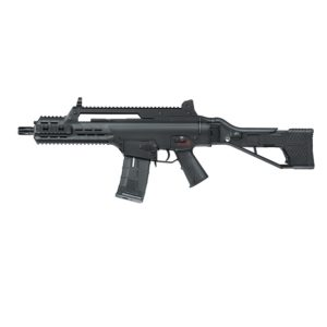 The AAR G33 COMPACT ASSAULT RIFLE BLACK and with SFS (Situation Flexible Stock) has not only stock folding design, but also the stock pad of 4 adjustable lengths, and ambidextrous QD sling swivel mount on both sides.
