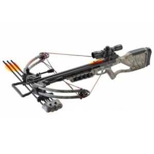The MK-380GC 170LBS COMPOUND CROSSBOW GREEN CAMO has a nice design and very good performance; this hunting compound bow has a whopping 170 lbs – pound draw weight and can shoot this crossbow bolts at speeds of up to 360 fps equal to 395 kilometres per hour.