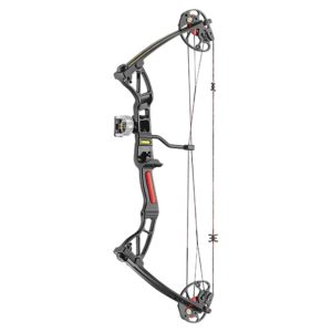 Rex Quad Limbs 15-55 lbs Black – Clamshell Kit comes with the complete package so you are ready to shoot.
