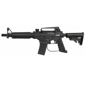 "The Bravo 1 Elite gives you the military M-16 styled marker with unbeatable performance by Tippmann. The Bravo 1 Elite also features a high performance 12"" ported barrel, a magazine that doubles as tool storage"