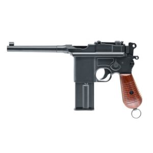 Thanks to its timeless design and unique characteristics, the Mauser C96 has been admired by gun collectors and sport shooters ever since its introduction in 1896.