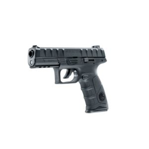 The Beretta APX 4.5mm BB is a stylish pistol with a 19-shot BB version. This pistol comes with a metal slide and blowback effect.