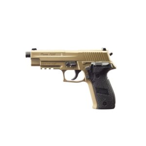 The P226 FDE from Sig Sauer offers a chambered in .177 pellet or steel BB, this CO2 powered, next-generation air pistol has been engineered specifically to closely measure up to the most popular SIG original model platforms in weight and handling as well as standards of performance.