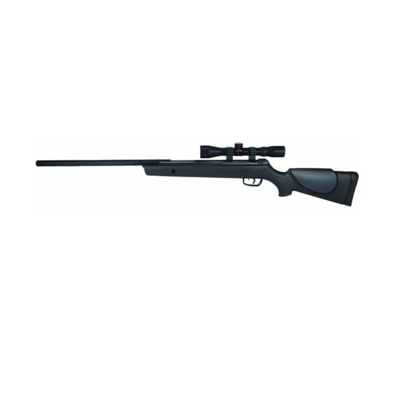 The Big Cat 1250 air rifle from GAMO is a single shot break barrel rifle and racks up a very impressive 1250ft/s when firing GAMO PBA pellets. It boast an automatic cocking safety with manual trigger safety. The twin cheek pads make it suitable for ambidextrous shooting with a ventilated butt pad to absorb the recoil of the rifle. The Big Cat is all rifle and has been made for those that want all the power they can get.