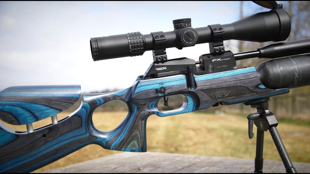 FX Crown Air Rifle - airgun royalty