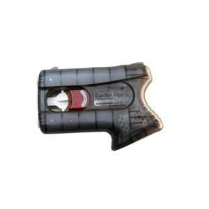 The Guardian Angel II fro Piexon provides a non-lethal method of protecting yourself. Unlike conventional pepper spray delivery systems, this disposable unit doesn't rely on a pressurised container, so its performance isn't affected by temperature fluctuations, leakage or age. Instead, it uses a gas generator to deliver its liquid OC (oleoresin capsicum) irritant agent. The pepper jet travels at a speed of 180 km/h, thereby avoiding blowback or drifting. Because the mechanism is sealed, it's suitable for all environmental conditions. The Guardian Angel II holds two defence charges, switching automatically from the first to the second charge. Compact, flat and light, it's easy to conceal and carry. One hit to the face (the maximum range is 4 m) will reportedly disable an attacker for up to 45 minutes, giving you plenty of time to escape.